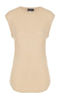 Удлиненная футболка без рукавов Polo Ralph Lauren