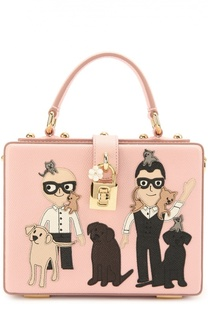 Сумка Dolce Box с аппликацией DG Family Dolce & Gabbana