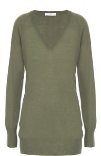 Удлиненный пуловер с V-образным вырезом Equipment