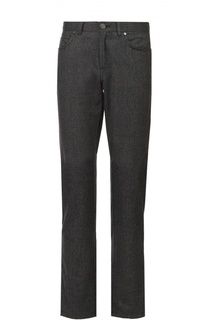 Хлопковые джинсы прямого кроя Brioni