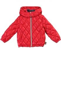 Стеганая куртка с капюшоном Gucci