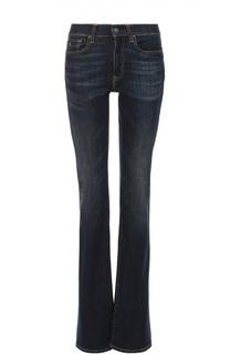 Расклешенные джинсы с декоративными потертостями Polo Ralph Lauren