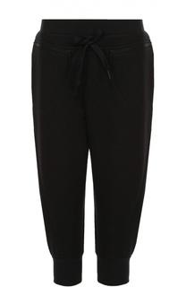 Укороченные спортивные брюки с эластичным поясом Adidas by Stella McCartney