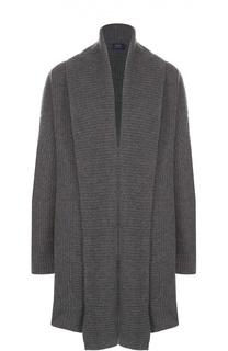 Удлиненный кардиган фактурной вязки Polo Ralph Lauren