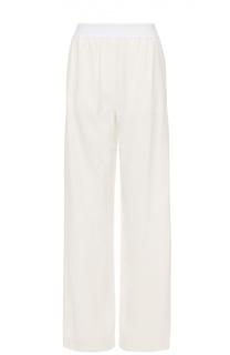 Брюки в пижамном стиле с эластичным поясом DKNY
