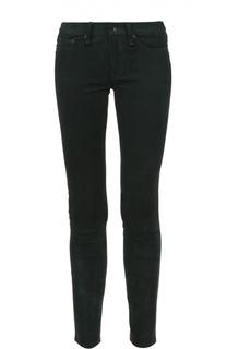 Замшевые укороченные брюки-скинни Rag&Bone Rag&Bone