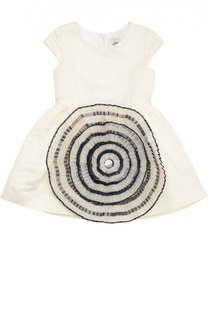 Приталенное платье с фактурной отделкой Jean Paul Gaultier