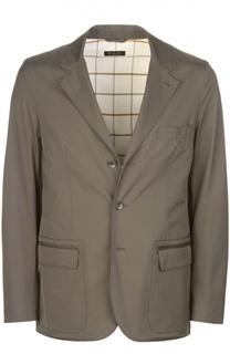 Куртка-пиджак с накладными карманами Loro Piana