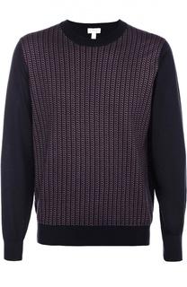 Джемпер из смеси шелка и шерсти с добавлением кашемира Brioni