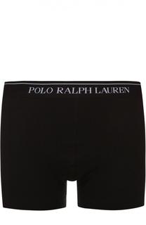 Комплект из трех хлопковых боксеров с широкой резинкой Ralph Lauren