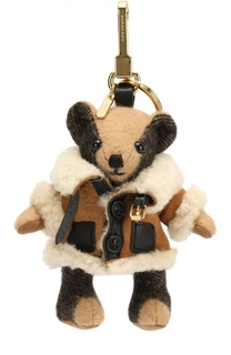 Брелок Thomas Bear в меховом пальто Burberry