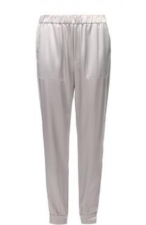 Укороченные джоггеры с эластичным поясом и накладными карманами Polo Ralph Lauren