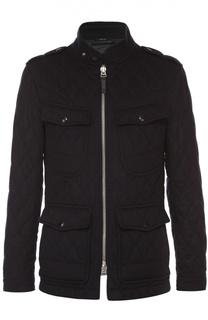Утепленная кашемировая куртка с воротником-стойкой Tom Ford