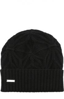 Вязаная шапка с фактурным узором Dsquared2