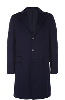 Пальто из смеси шерсти и кашемира с пуховым утеплителем Brioni