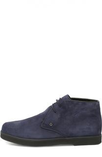 Замшевые ботинки с внутренней меховой отделкой Aldo Brue