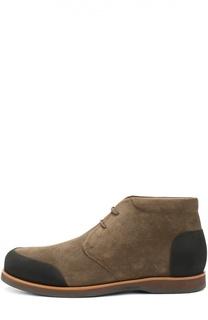 Замшевые ботинки с внутренней меховой отделкой Zonkey Boot