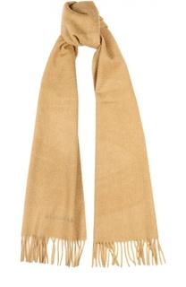 Кашемировый шарф с вышивкой Burberry