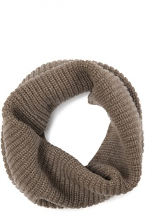Вязаный шарф-хомут из кашемира Inverni