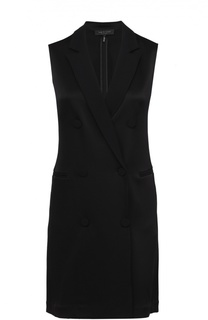 Мини-платье с запахом и широкими лацканами Rag&Bone Rag&Bone