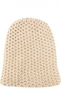 Шапка фактурной вязки из кашемира Inverni