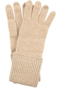 Кашемировые перчатки с кристаллами Swarovski William Sharp