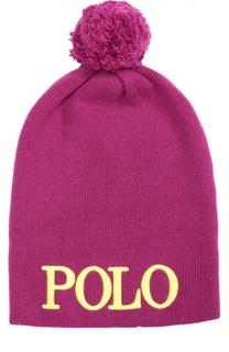 Шапка с помпоном Polo Ralph Lauren