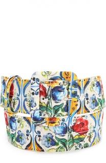 Ремень с принтом Dolce & Gabbana