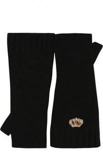 Перчатки из шерсти и кашемира Dolce & Gabbana
