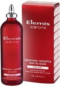 Регенерирующее масло для тела Японская камелия Elemis