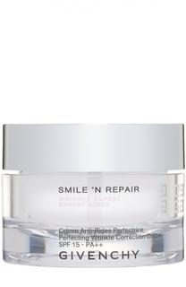 Крем для коррекции морщин кожи лица Smilen Repair SPF15 Givenchy