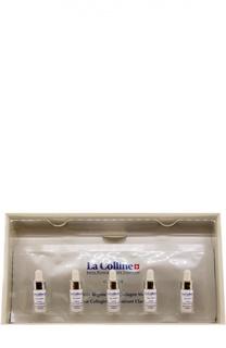 Отбеливающая и восстанавливающая коллагеновая маска (5 масок+5 сывороток) La Colline