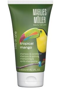 """Шампунь и кондиционер 2 в 1 """"Тропический манго"""" Marlies Moller"""