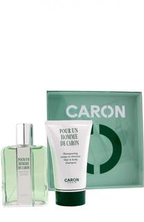 Набор Pour Un Homme: Туалетная вода + Шампунь Caron