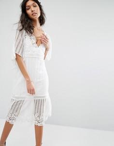 Stevie May Violante Dress - Белый