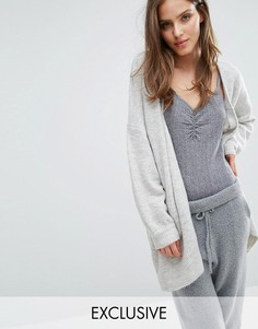 Micha Lounge Boxy Cardigan - Серый