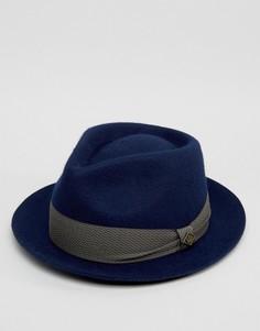 Темно-синяя фетровая шляпа Goorin Griffin - Темно-синий