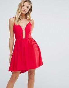 Красное платье Majorelle Gallup - Красный