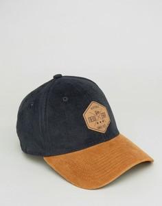 Вельветовая кепка New Era 39Thirty - Черный