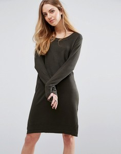 Blend She Camille Jumper Dress - Зеленый