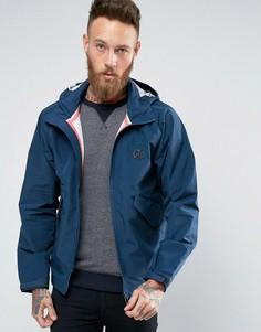 Темно-синяя непромокаемая куртка с капюшоном Paul Smith - Темно-синий