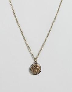 Ожерелье с подвеской Icon Brand - Золотой