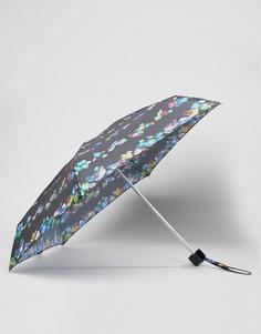 Зонт с принтом Fulton Tiny Bling - Черный