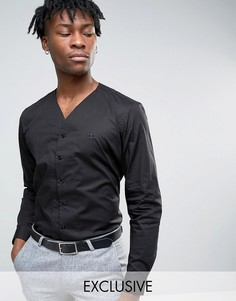Узкая рубашка Hart Hollywood - Черный