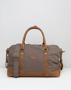 Серая парусиновая сумка Forbes & Lewis Somerset - Серый
