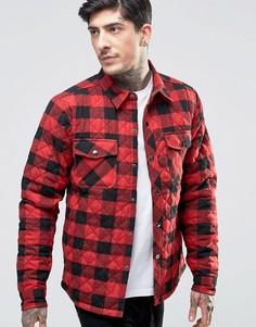 Стеганая куртка‑рубашка Another Influence - Красный