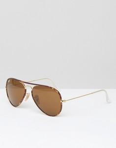 Солнцезащитные очки Ray-Ban Alex - Черный