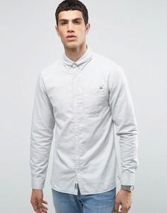 Рубашка классического кроя с воротником на пуговицах Jack & Jones Vintage - Кремовый