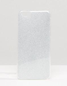 Чехол с блестками для iPhone 6 Signature - Серебряный