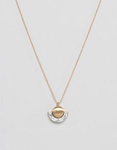 Ожерелье с мраморным эффектом Nylon - Золотой